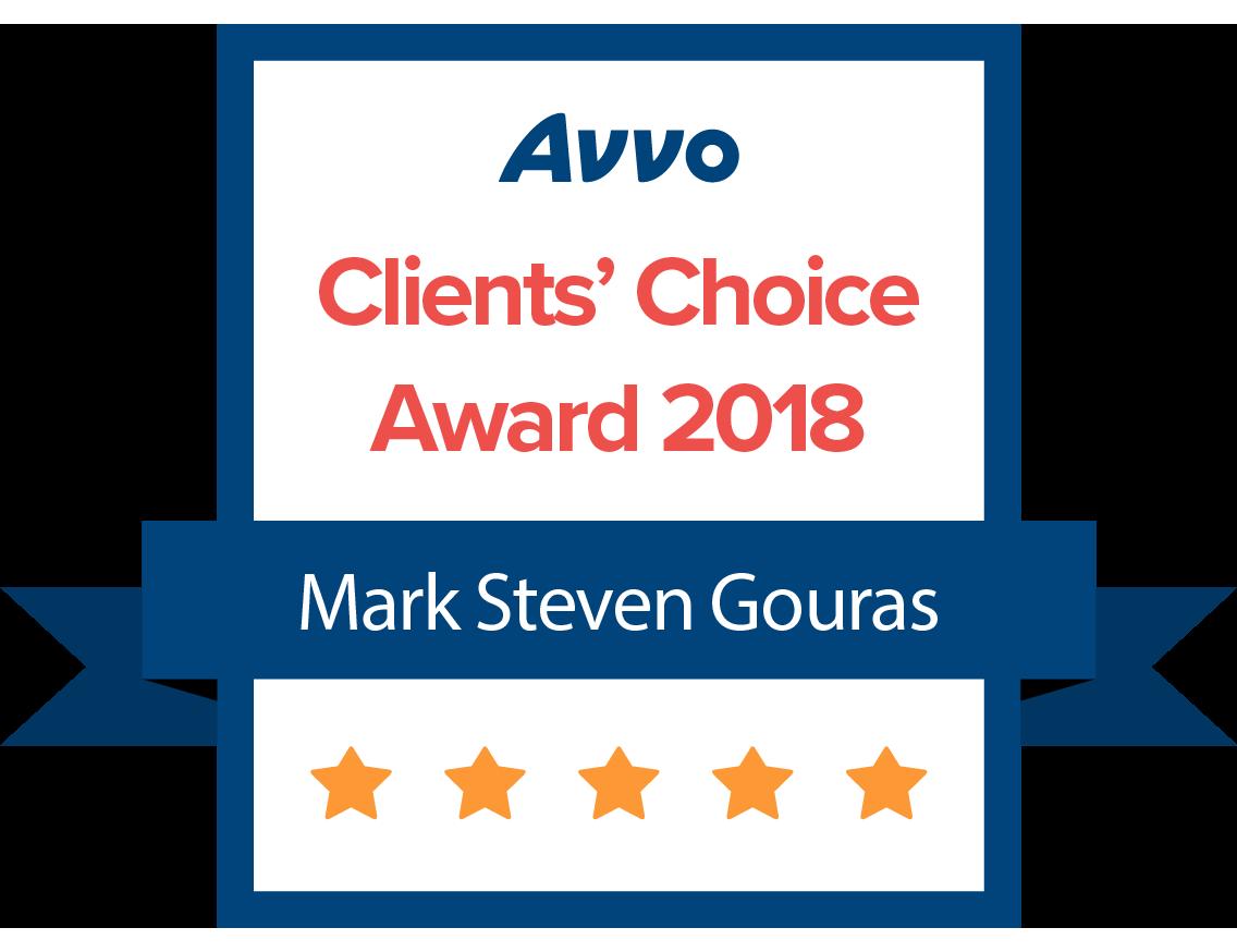 Mark Gouras clients choice award 2018