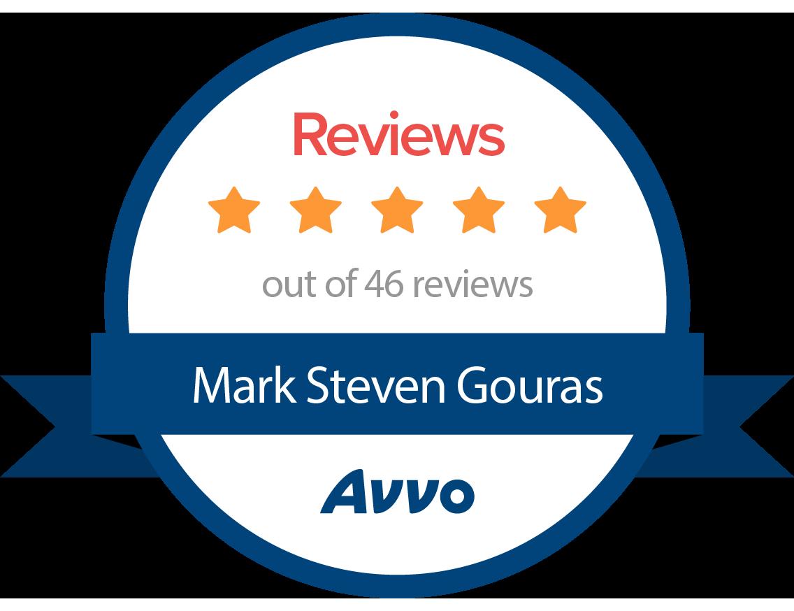 Mark Gouras AVVO reviews
